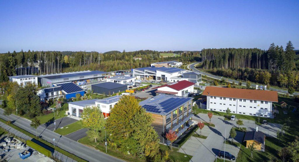 Traunreut Gewerbegebiet Süd Ost