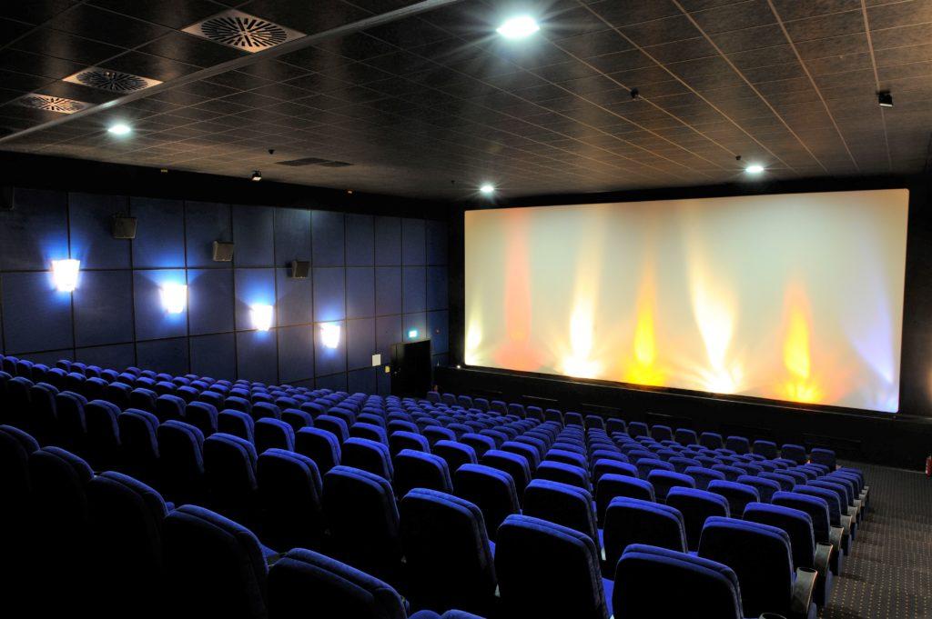 Kinosaal 1 im Kino Traunreut