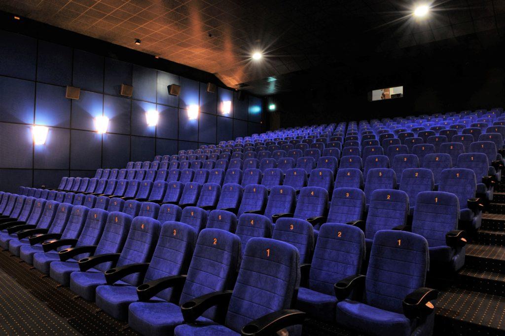 Kinosaal im Cine Chiemgau