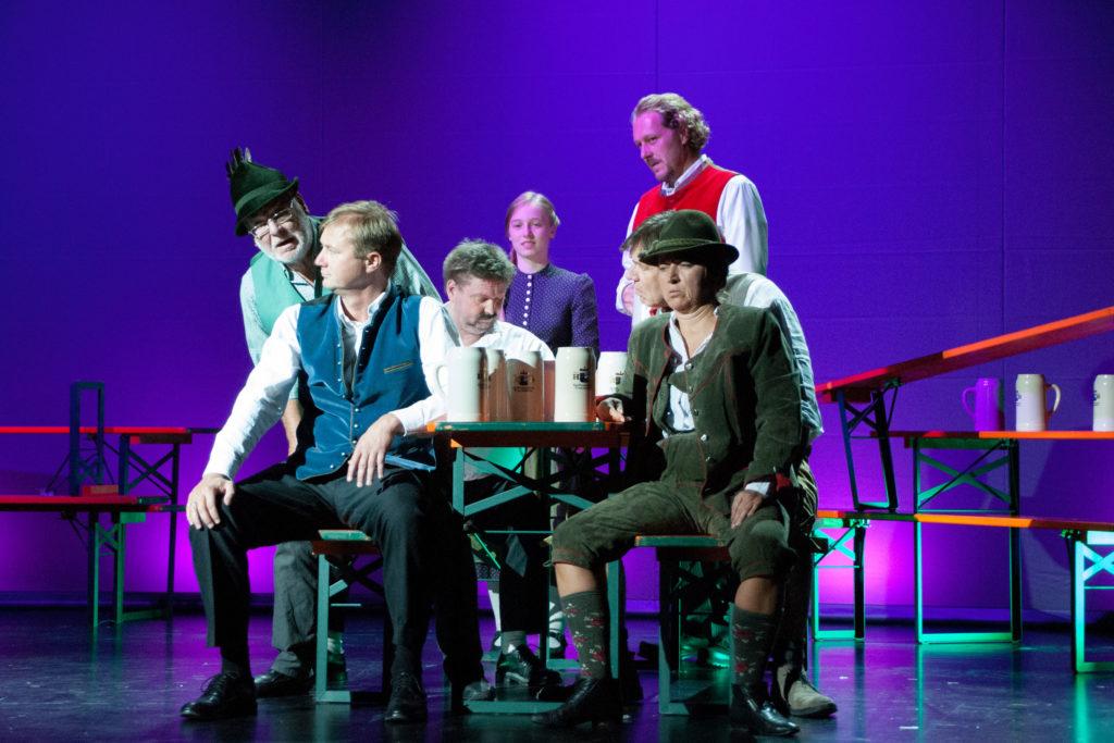 """Theaterchen """"O"""" spielt das Stück Oktoberfest"""