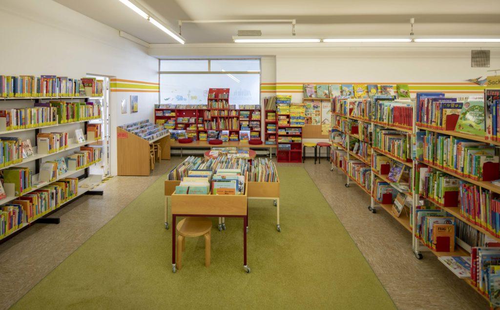 Kinderberreich in der Stadtbücherei