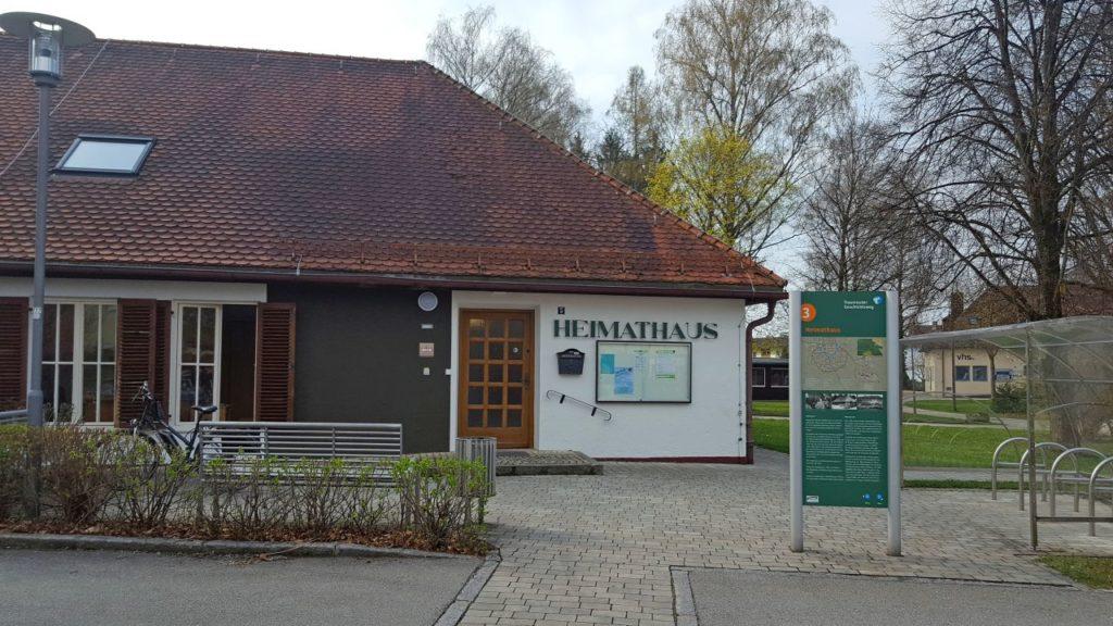 Willkommen im Heimathaus – Urheber Gerhard Wonner