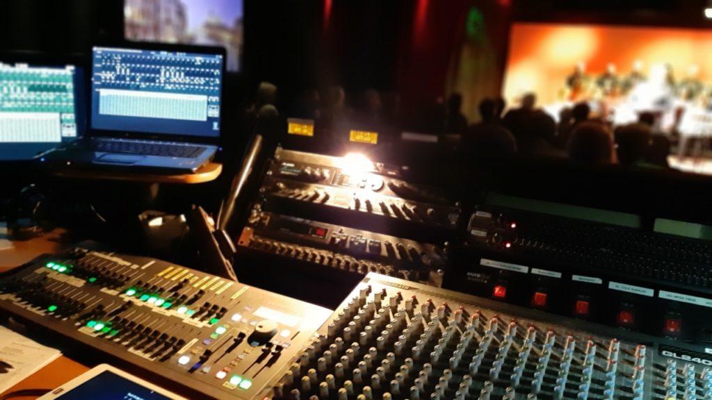 Technische Ausstattung in der Theaterfabrik - Matthias Mollner