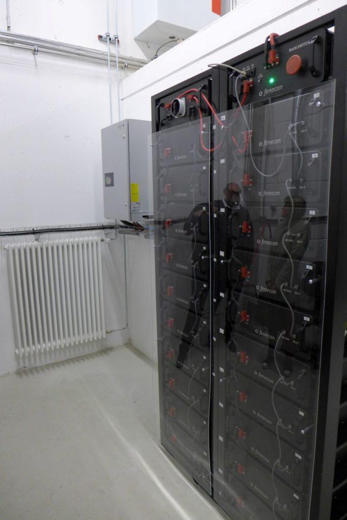 Stromspeicher Im Bauhof
