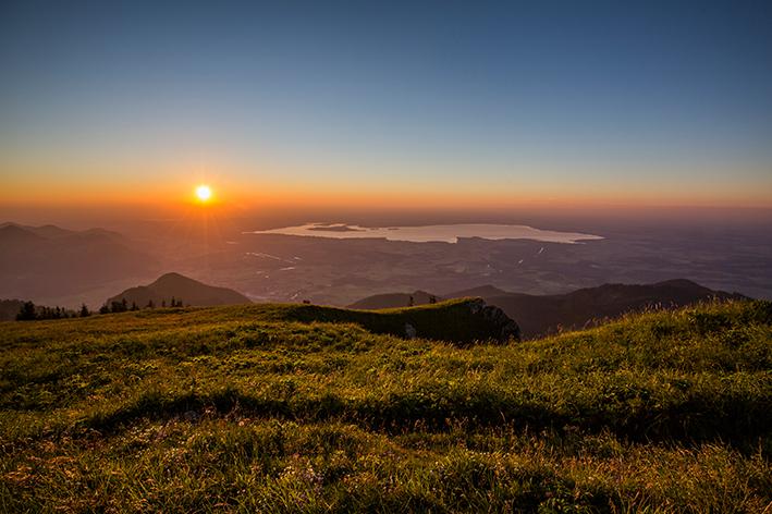Tagesausflug Traunreut Chiemgau Chiemsee Berge