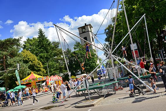 Stadtfest Traunreut Kinderland