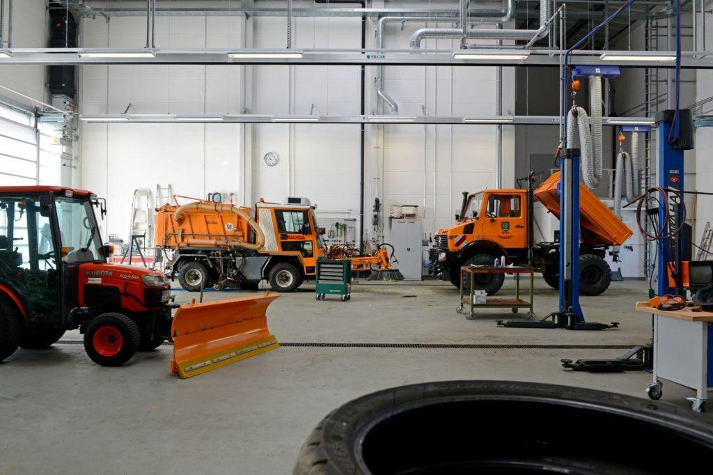 Bauhof KFZ-Werkstatt