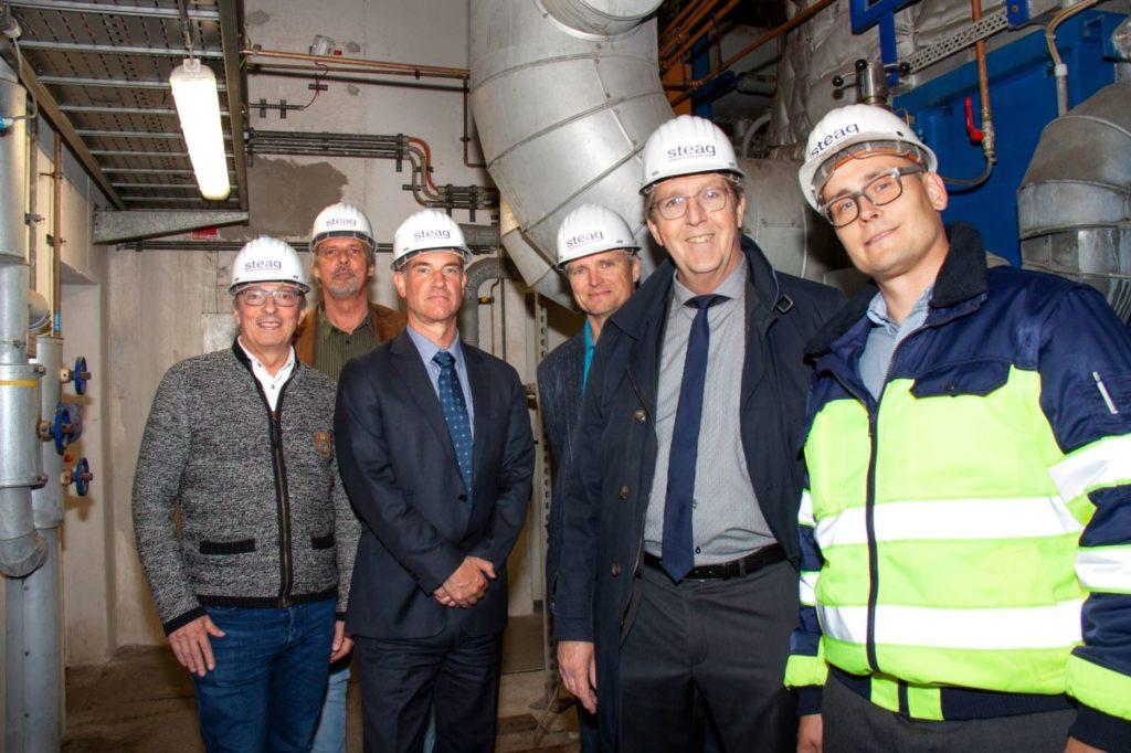 Betriebsbesuch Firma STEAG in Traunreut