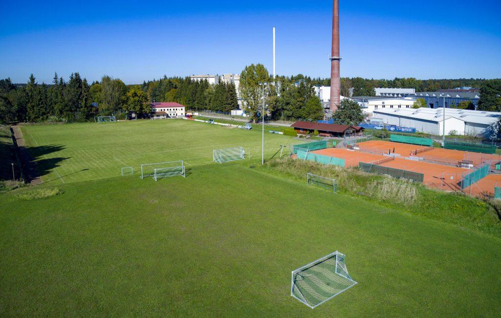 Fußballplatz FC Traunreut