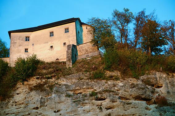 Hochschloß Stein an der Traun, Steiner Burg