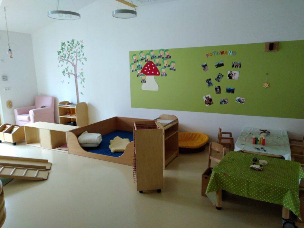 Kinderkrippe Zwergenland Wohlfühlbereich