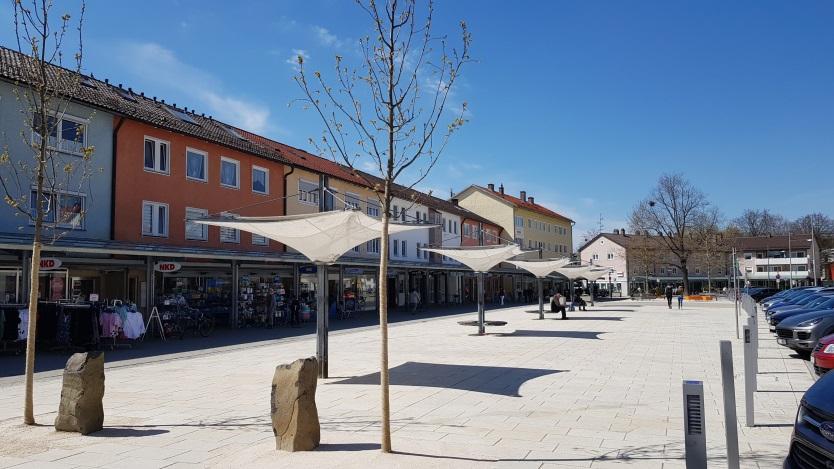 Rathausplatz Traunreut
