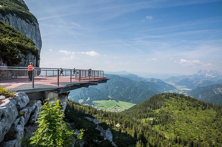 Tagesausflug Traunreut Steinplatte Aussicht Chiemgau Berge