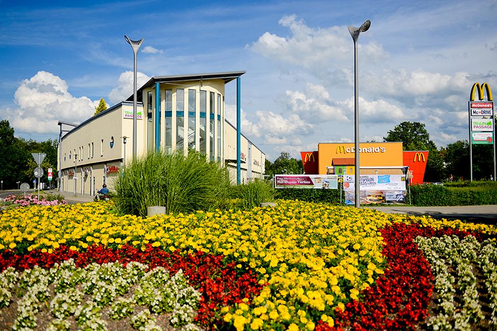 Traunreut Shopping Traunpassage Einkaufen