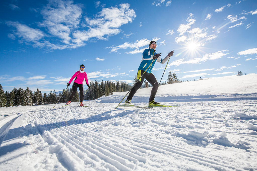 Langlauf Traunreut Wintersport
