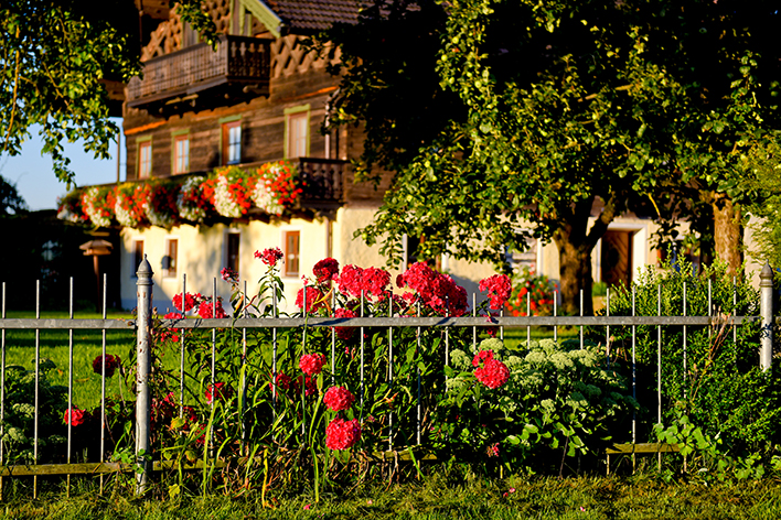 St. Georgen Traunreut Bauernhaus Bayern