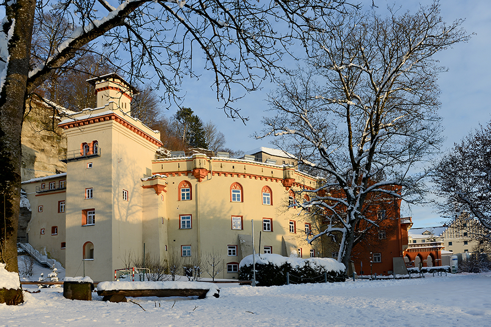 Stein an der Traun Schloss Landschulheim