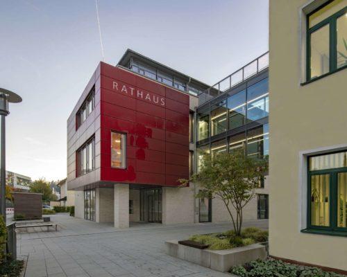 Rathaus Traunreut Erweiterungsbau