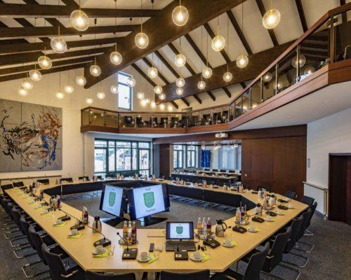Sitzungssaal Rathaus Traunreut