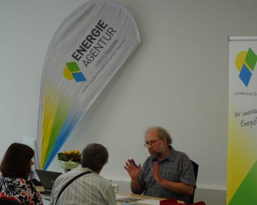 Beratung zur Einsparung von Energie Foto Energieagentur Südostbayern