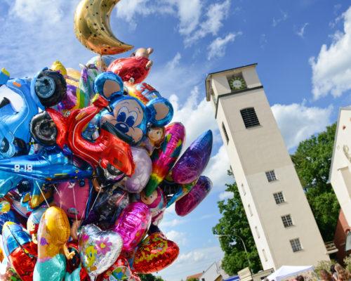 Stadtfest Traunreut beliebt bei Groß und Klein