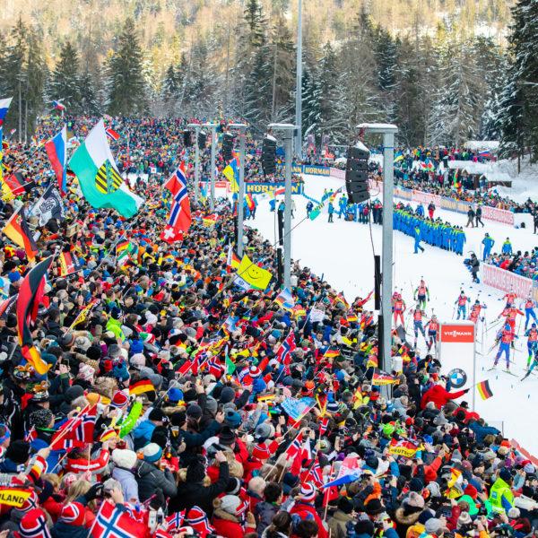 BMW IBU Biathlon Weltcup in Ruhpolding