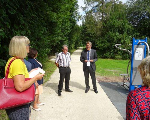 Neuer Fitnesspark in Traunreut