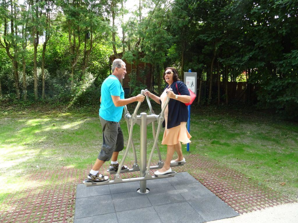 Neuer Fitneßpark Traunreut