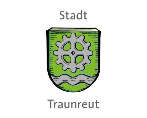 Wappen der Stadt Traunreut