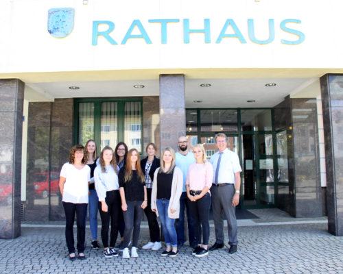 Neue Auszubildende bei der Stadt Traunreut