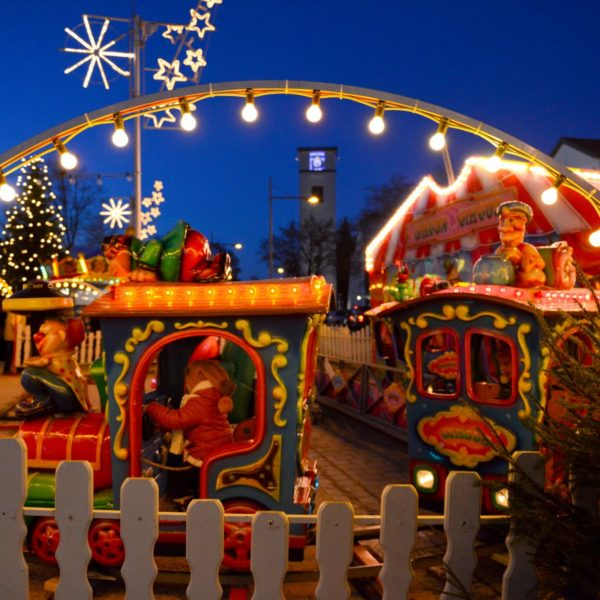 Rahmenprogramm am 01.12.19 beim Traunreuter Weihnachtsmarkt