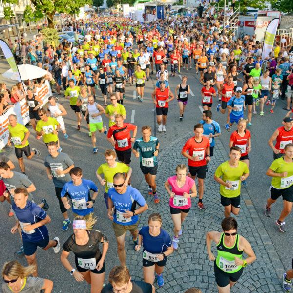 17. Stadtlauf am 3. Juli 2020 in Traunreut