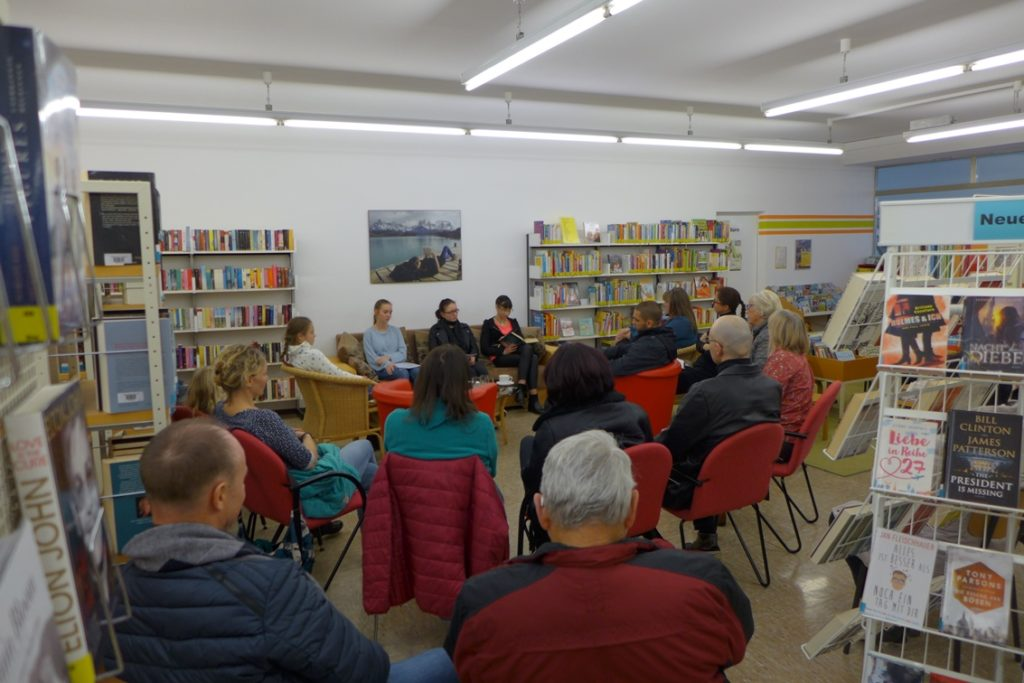 Vorlesetag Traunreut Stadtbücherei