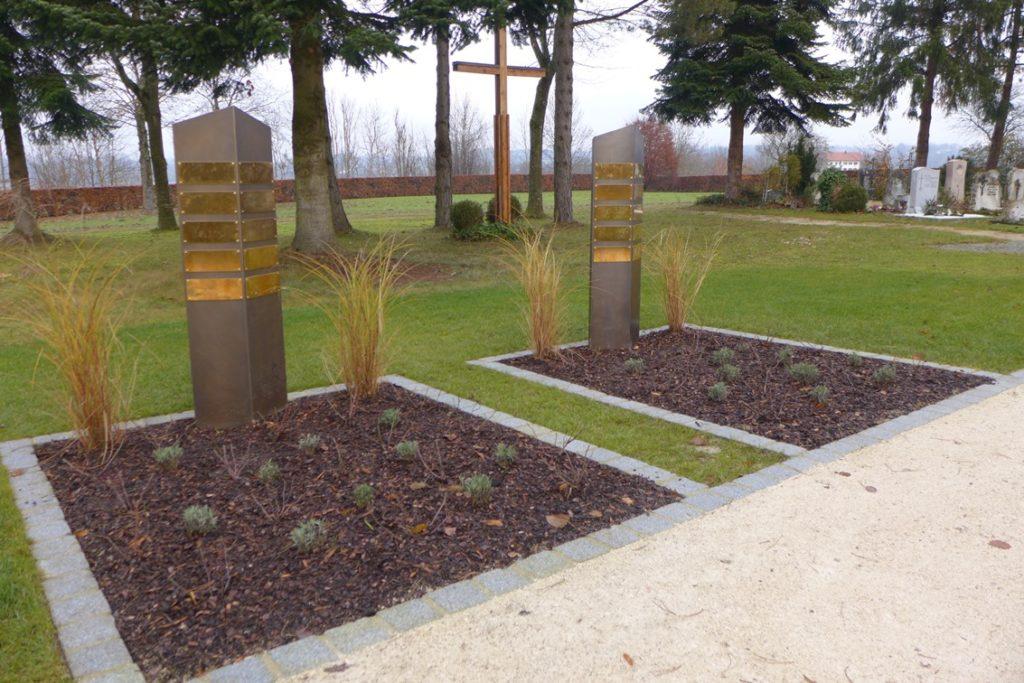 Traunreut Sankt Georgen Neue Bestattungsformen