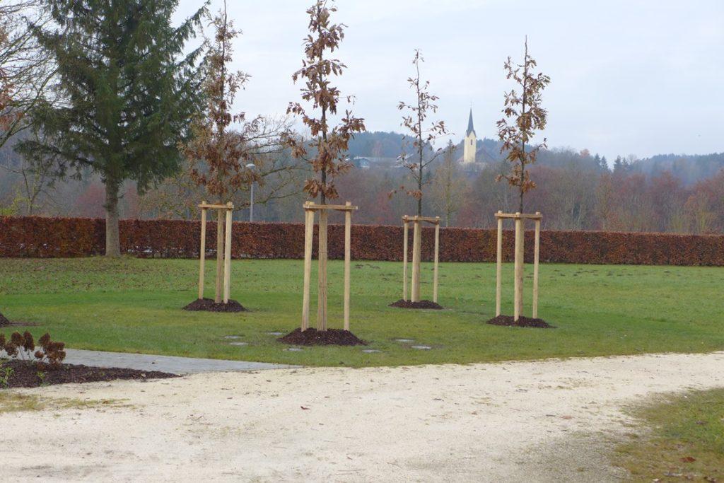 Traunreut Sankt Georgen Friedhof Bestattungsformen