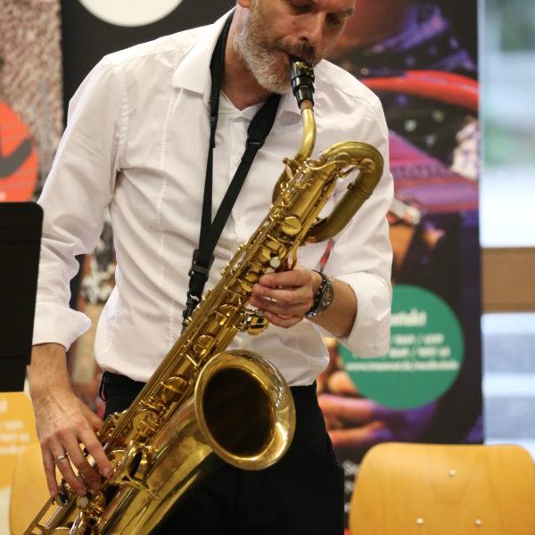 Musikschulkonzert mit Klarinette und Saxofon: Musikschüler von Josef Mayer