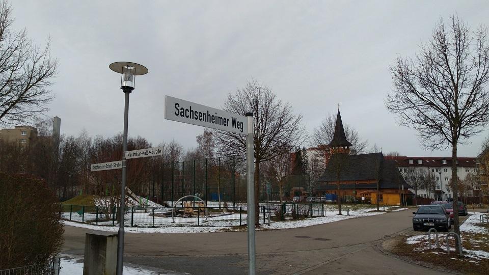 Traunreut Sachsenheim Sachsenheimer Weg
