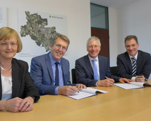 Traunreut Stadt Stadtwerke Strom Konzessionsvertrag
