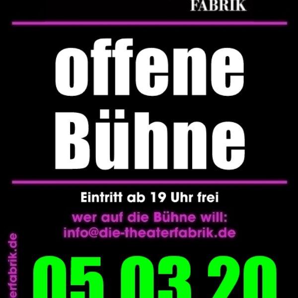 Offene Bühne – Open Stage