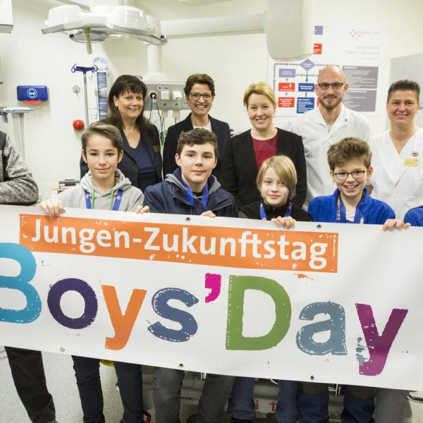 Jungen-Zukunftstag Boy's Day – Entdecke Deine Talente!