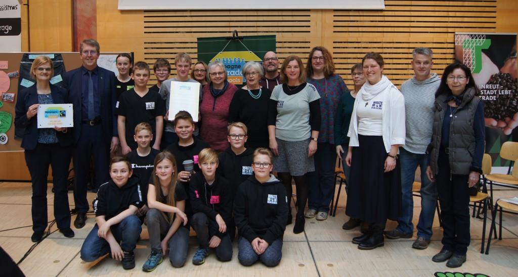 Walter-Mohr-Realschule wird Fairtrade-School