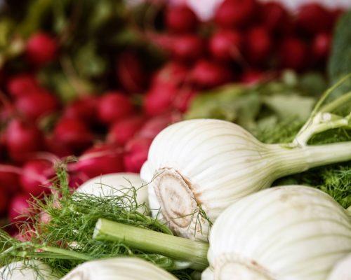 Bauernmarkt Gemüse