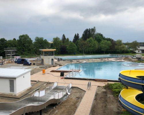 Franz-Haberlander Freibad Sanierung 2020