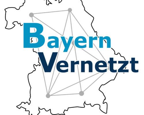 Logo Bayern vernetzt