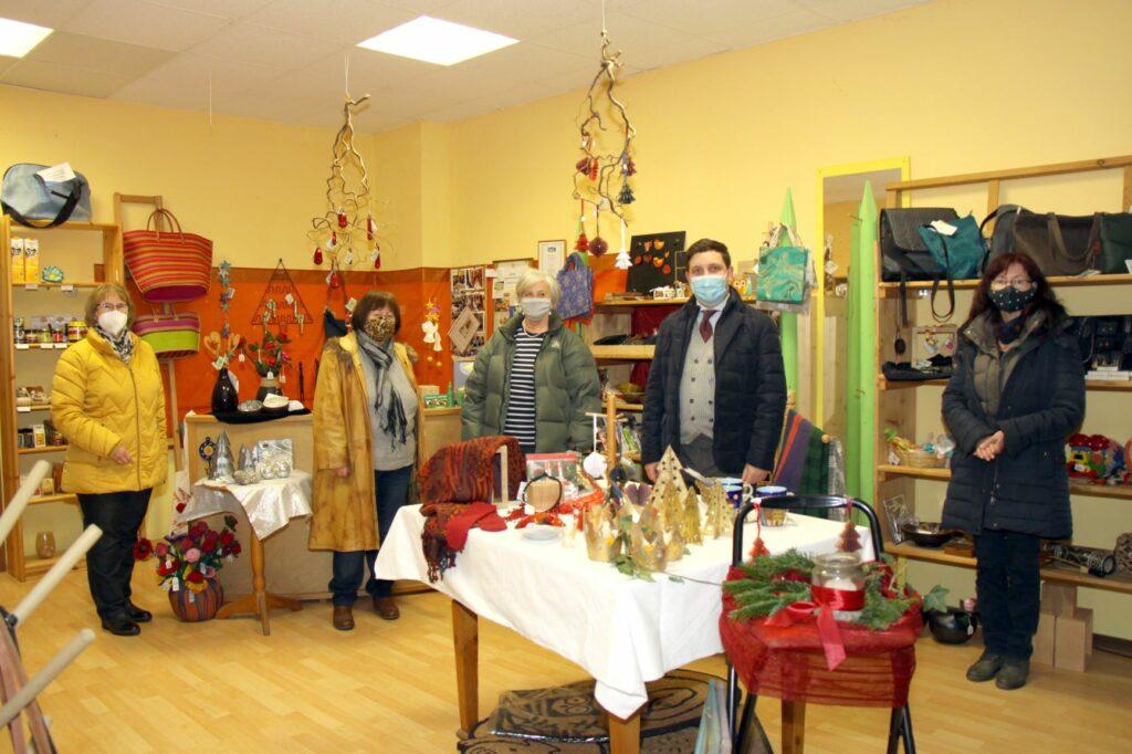 Matoke e.V., Weltladen Traunreut, Stadt Traunreut, Fair Trade, Bürgermeister Hans-Peter Dangschat