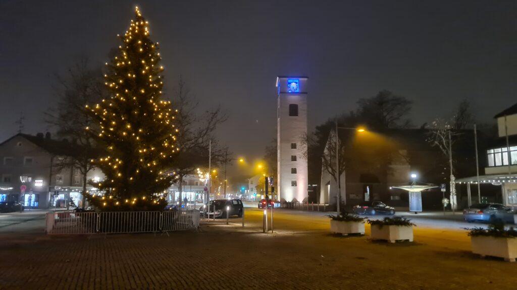 Christbaum am Rathausplatz