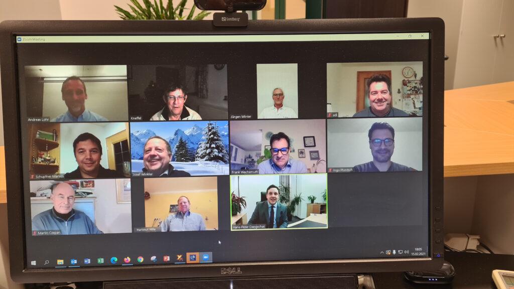 Virtuelle Sitzung des Werkausschusses