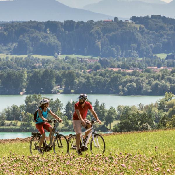 Chiemgauer Radlfrühling 2021 – Auf zum wärmsten See Bayerns