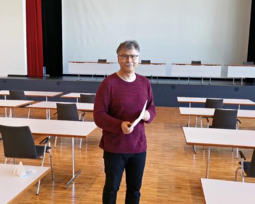 Technischer Leiter und Coronamanger der Stadt Traunreut Frank Willmann