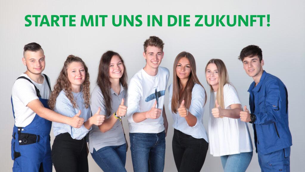 Werbebanner Ausbildung bei der Stadt Traunreut